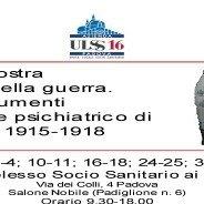 Interessante mostra su sanità e Grande Guerra a Padova patrocinata da Progressus