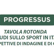 Gli studi sullo sport in Italia. Nuove prospettive di indagine e di confronto