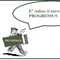 Online il nuovo numero di Progressus