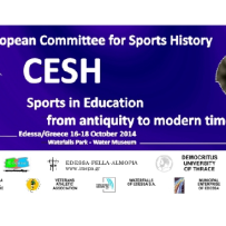 Convegno Cesh 2014. Sports in Education. From antiquity to modern times