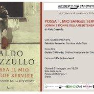 Presentazione nuovo libro di Aldo Cazzullo